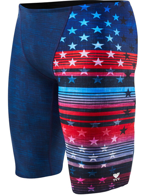 TYR Liberty Allover - Bañadores Hombre - rojo/azul